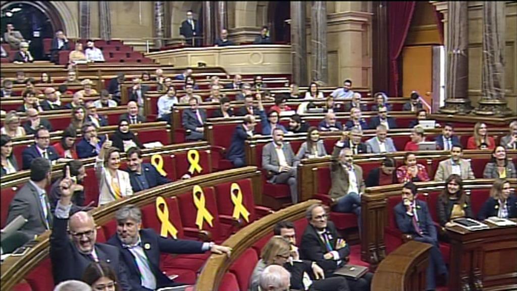 el parlament de catalunya reprova la monarquia