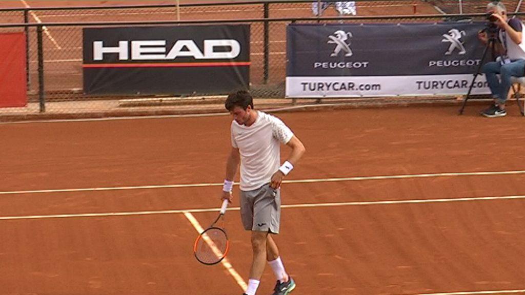 Pedro Martínez guanya el primer set