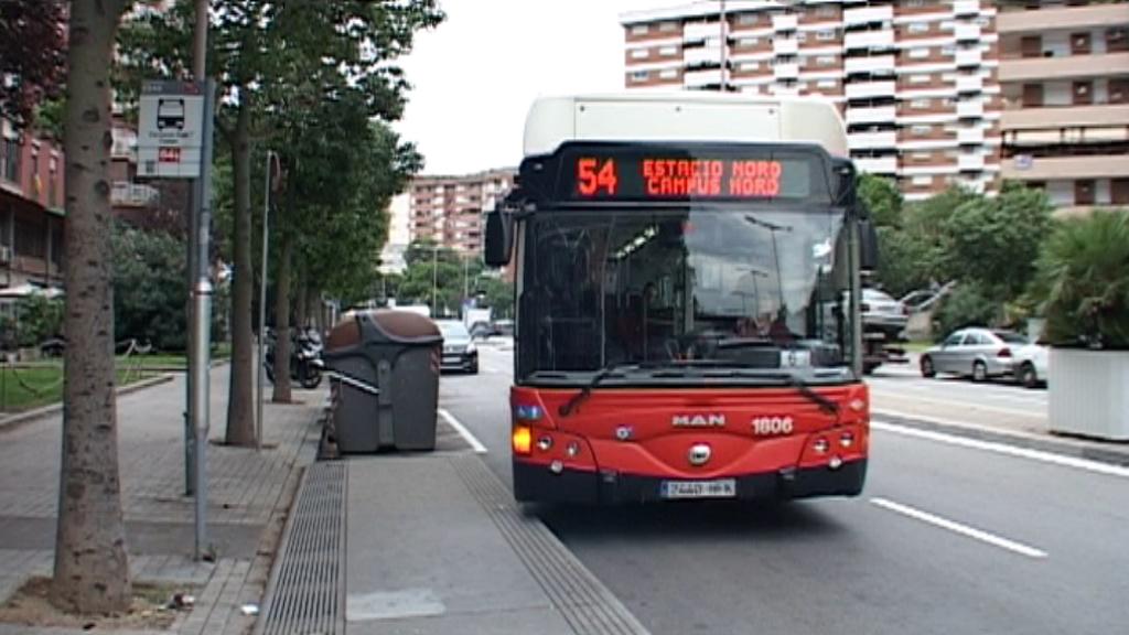 protesta autobús h10