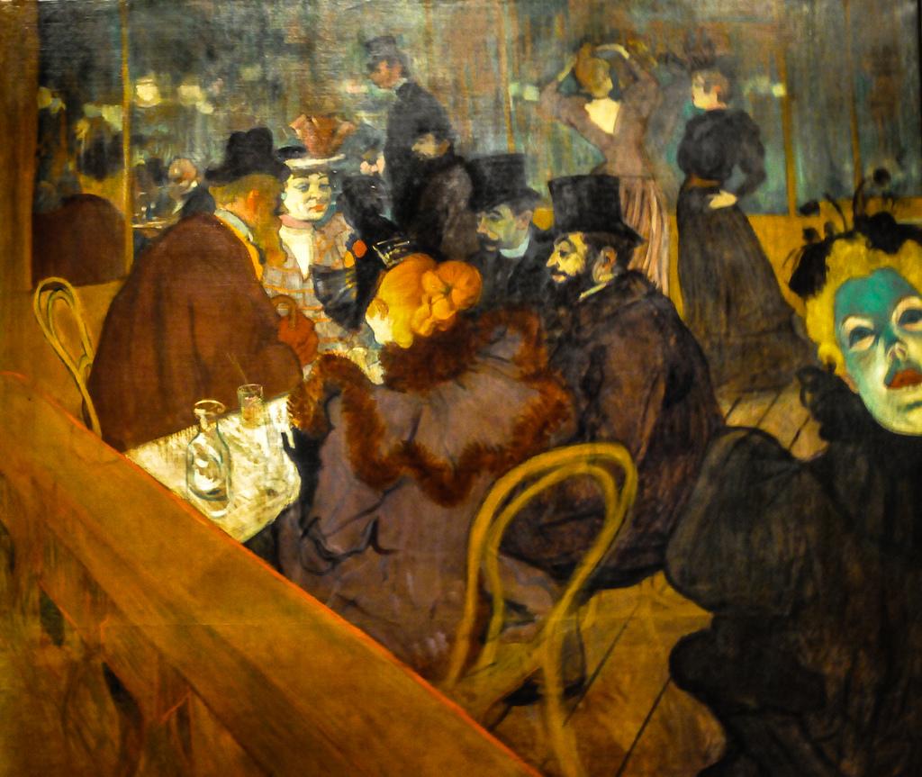 BALL AL MOULIN DE LA GALETTE Auguste Renoir, 1876