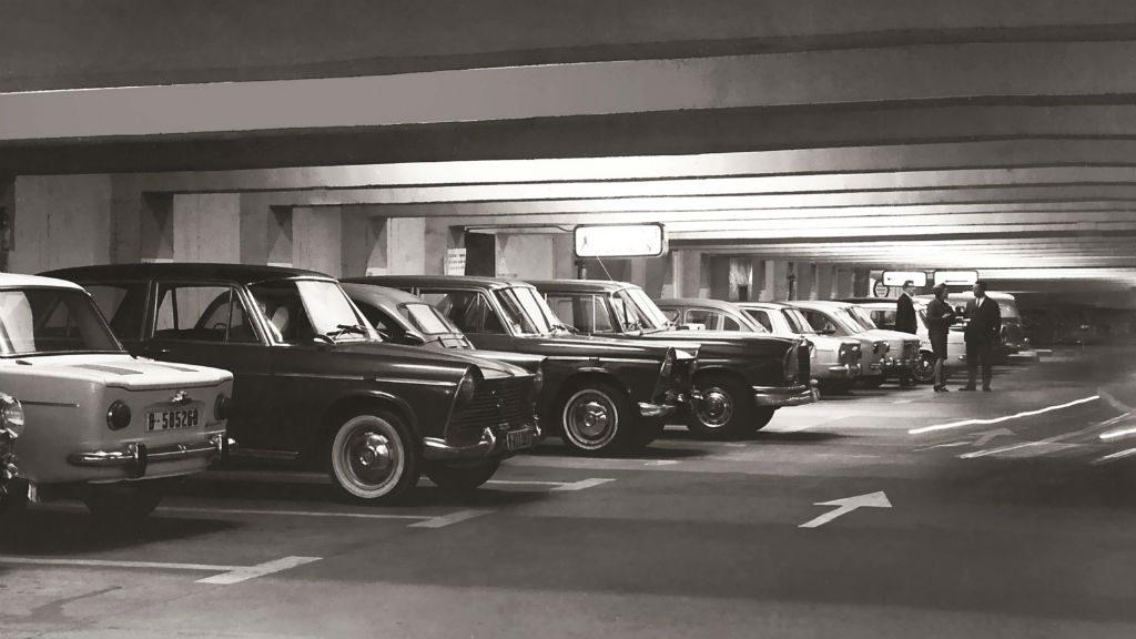 aparcament antic passeig de gracia