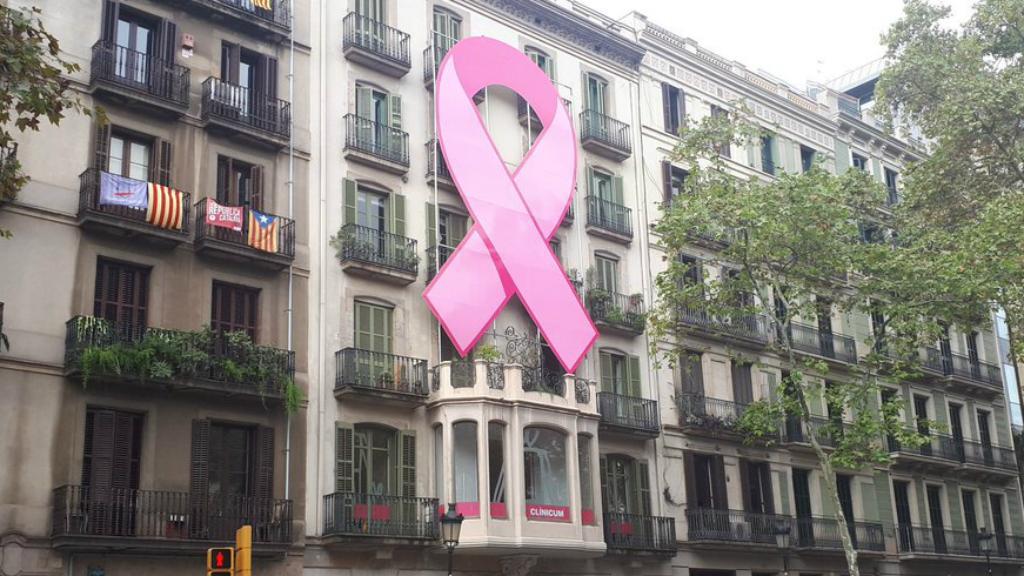 llaç rosa càncer mama