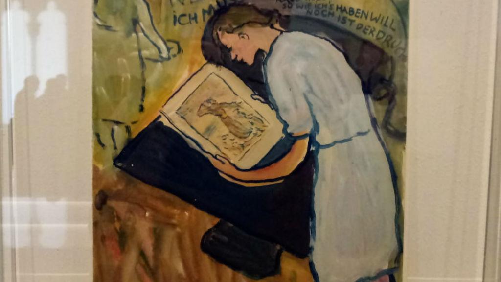 Charlotte Salomon pintura