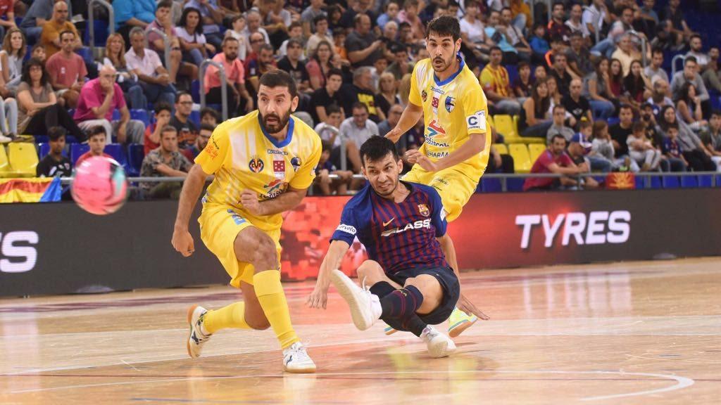 El Barça perd contra el Peníscola