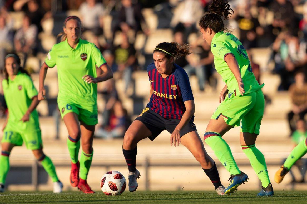 fc barcelona femeni llevant