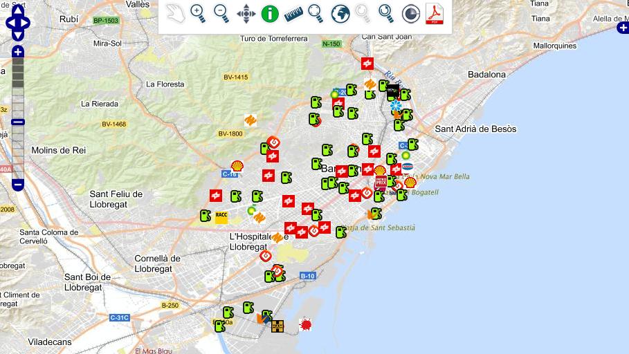 gasolina barata mapa