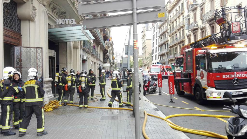 Bombers Hotel Catalonia Rambla