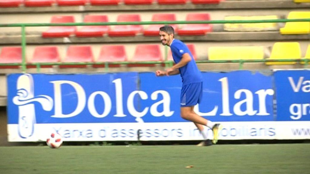 Josu Rodríguez, jugador UE Sant Andreu