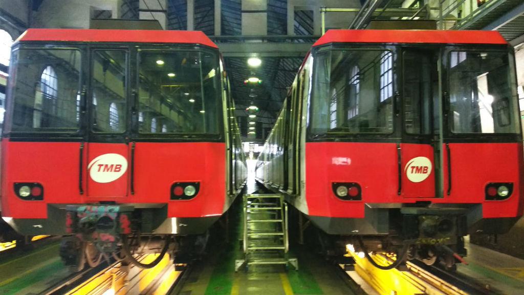 Metros al taller de TMB
