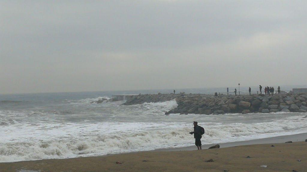 temporal de mar a l'octubre