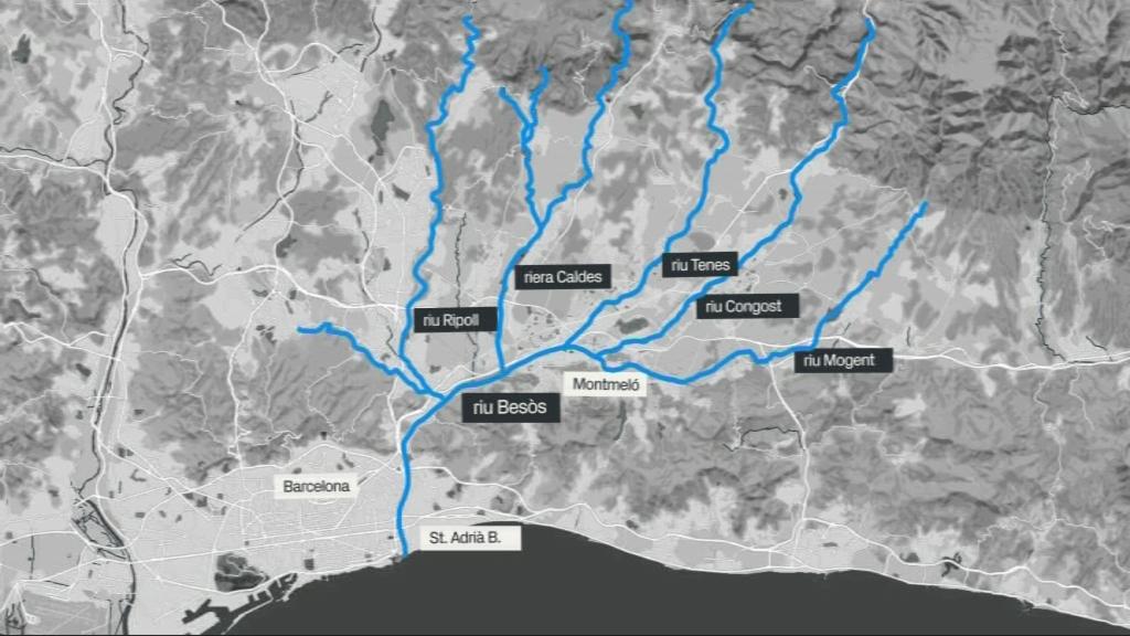 Afluents riu Besòs