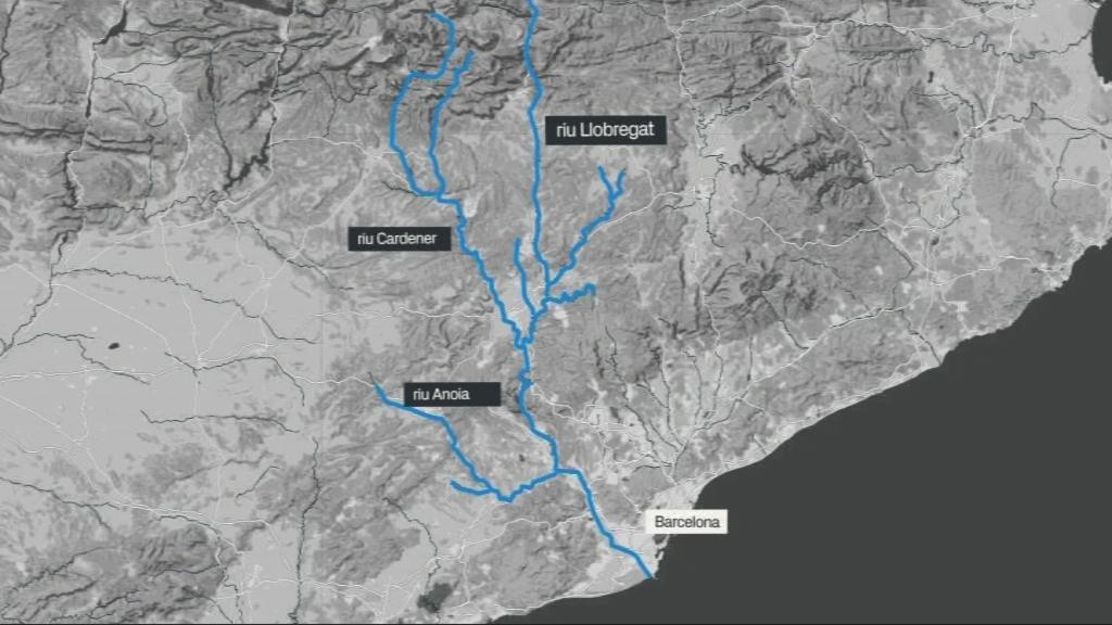 afluents riu Llobregat