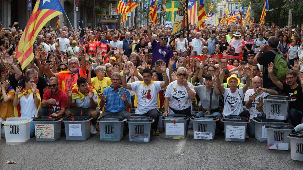 En la marxa hi han participat veïns de Mollet del Vallès, Navàs o Sant Vicenç dels Horts, entre d'altres