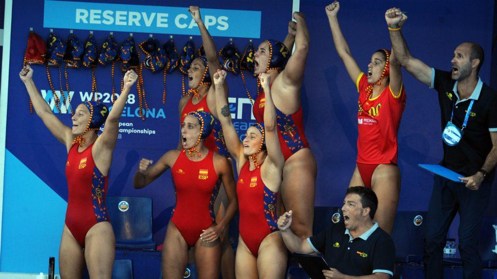 Selecció espanyola femenina WP2018BCN