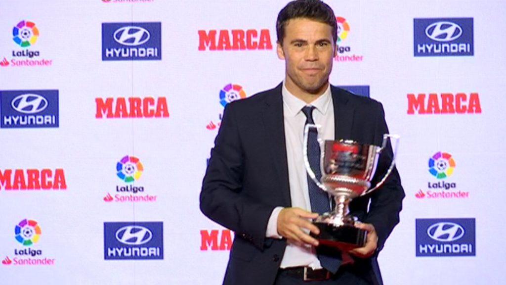 Rubi premis Marca millor entrenador Segona