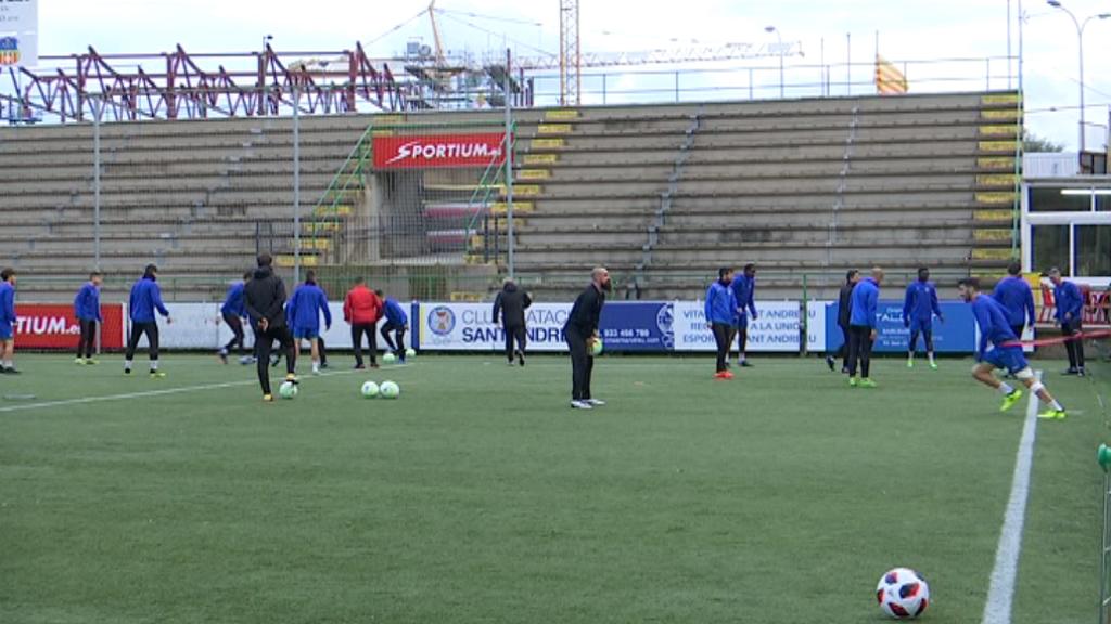 Mikel Azparren UE Sant Andreu