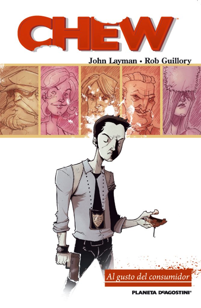 CHEW John Layman i Rob Guillory. Planeta, 2012