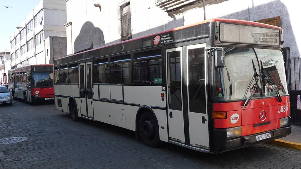 bus arequipa peru