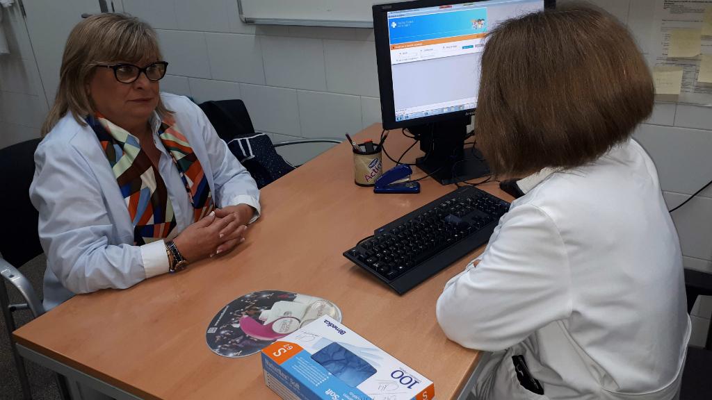 consulta mèdica a un cap de primària