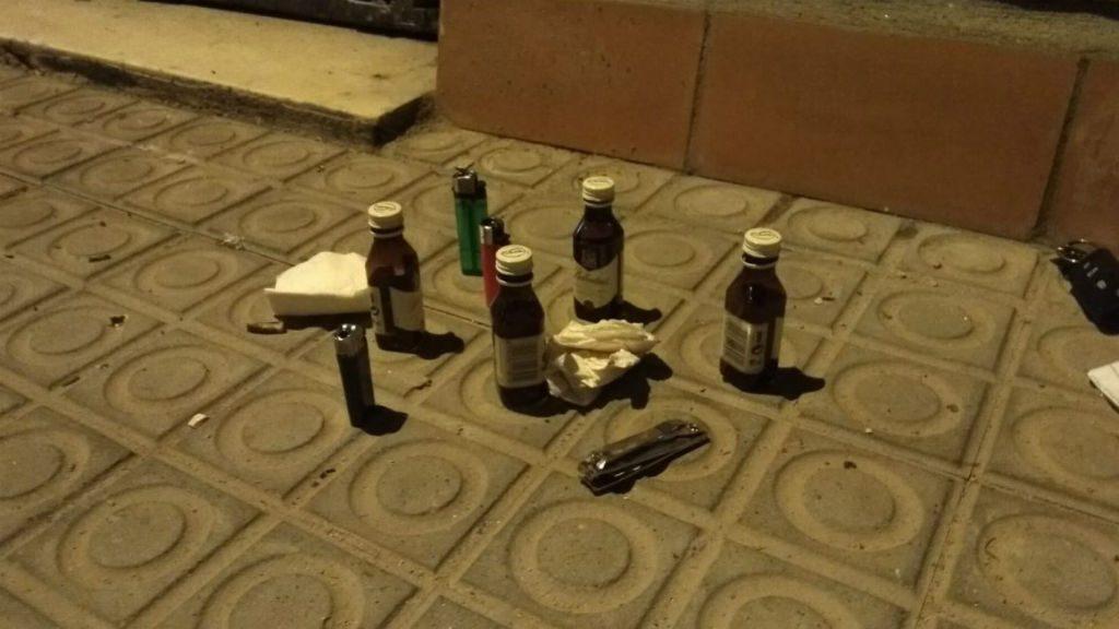 Material detingut crema contenidors