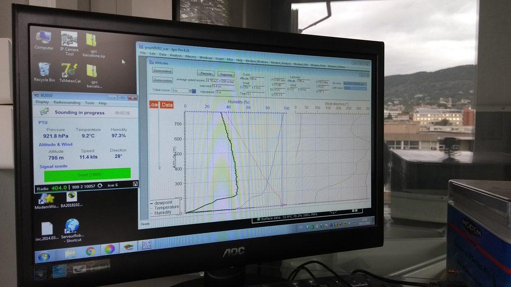 ordinador de radiosondatge