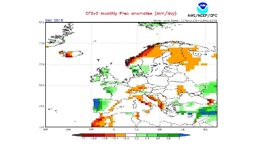 mapa estacional de precipitació (NOAA)