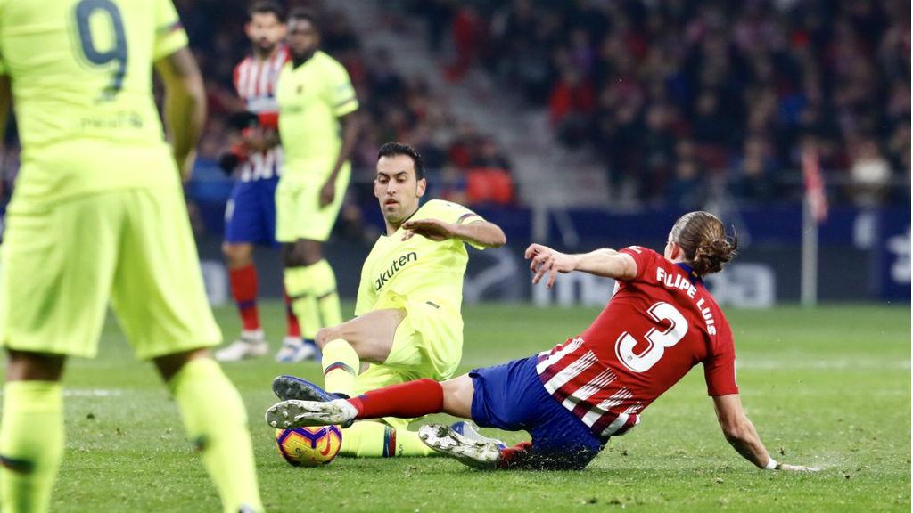 El Barça visita el camp de l'Atlètic de Madrid