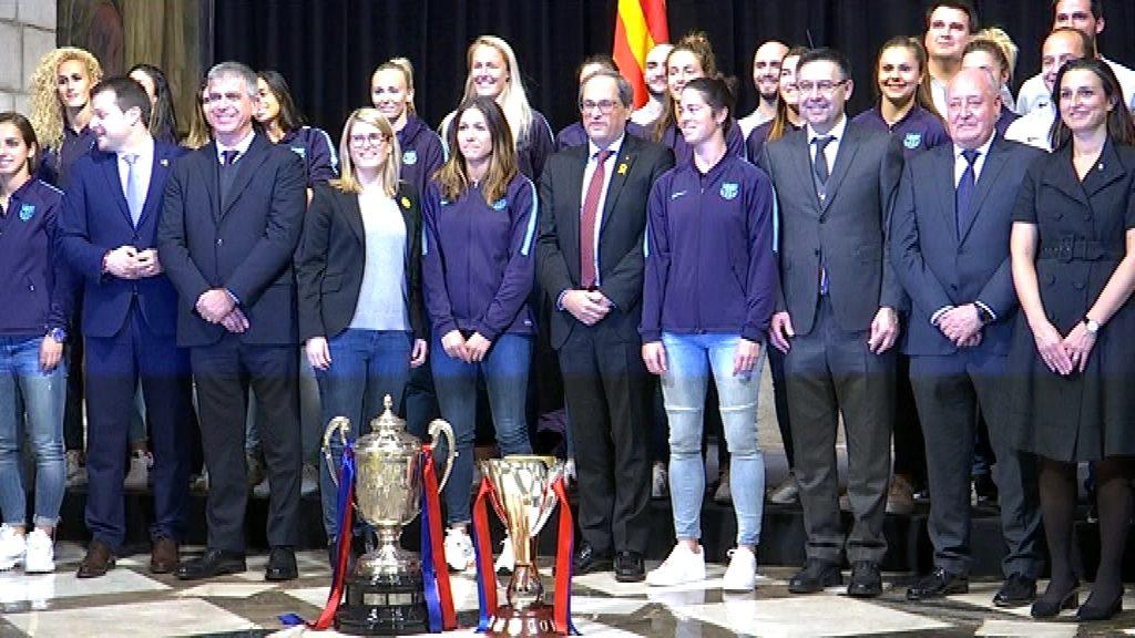 Barça femení rebut per la Generalitat