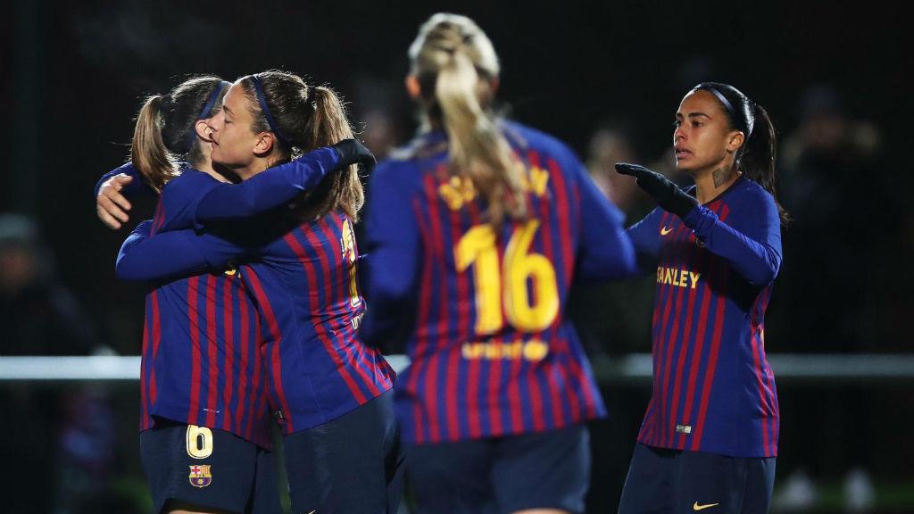 El Barça jugarà la semifinal de la Copa de la Reina contra l'Atlètic de Madrid
