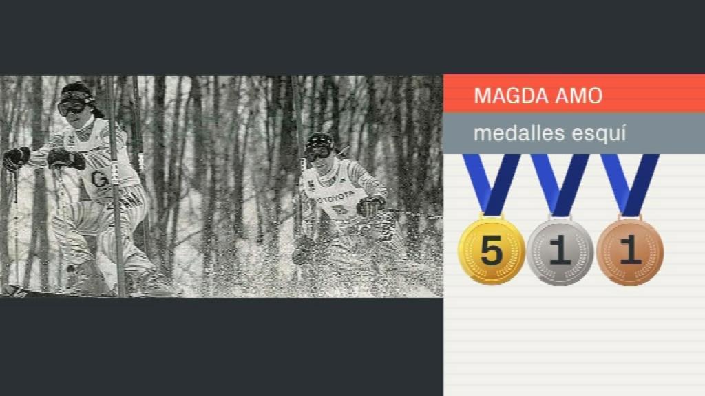 Medalles esquí alpí