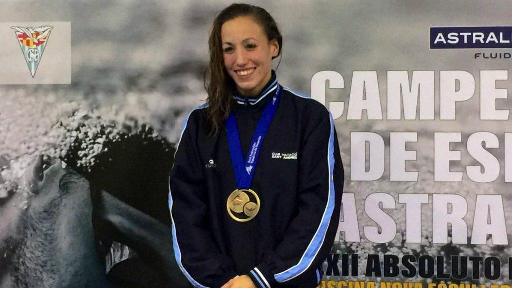 Jessica Vall, nedadora del CN Sant Andreu