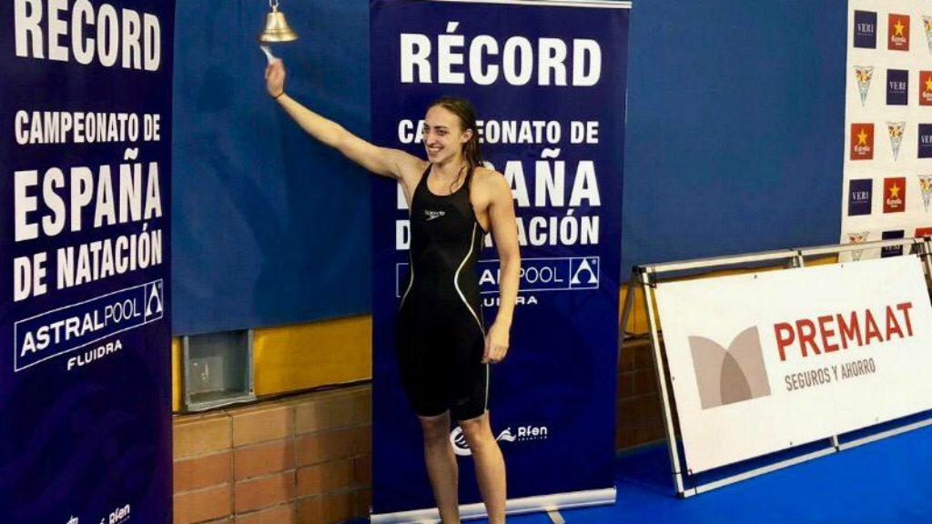 Lidon Muñoz, nedadora del CN Sant Andreu