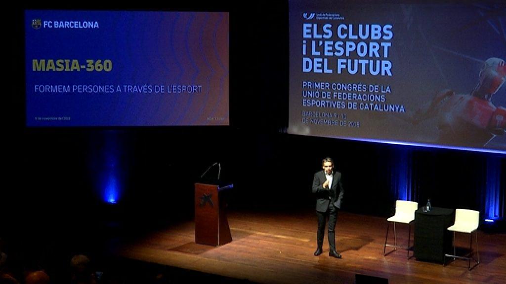 La Masia 360 FC Barcelona, una conferència d'Albert Soler