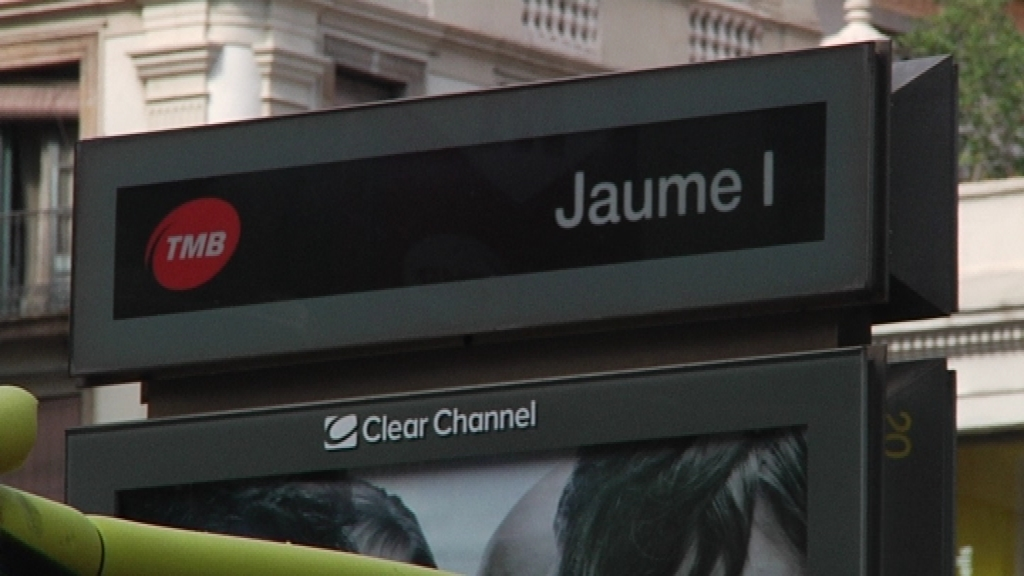 Estació metro Jaume I