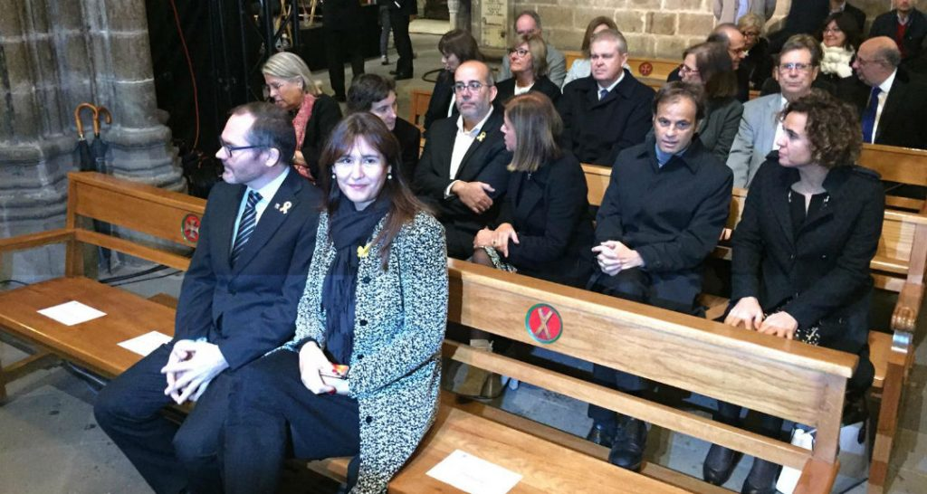 Missa Montserrat Caballé assistents