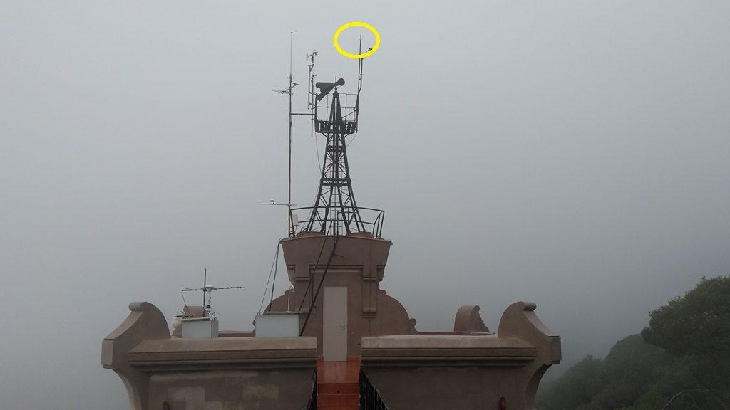 Parallamps a l'Observatori Fabra