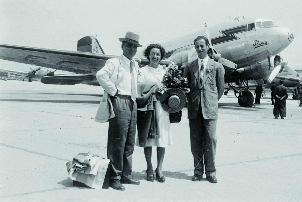 passatgers aeroport prat 1930