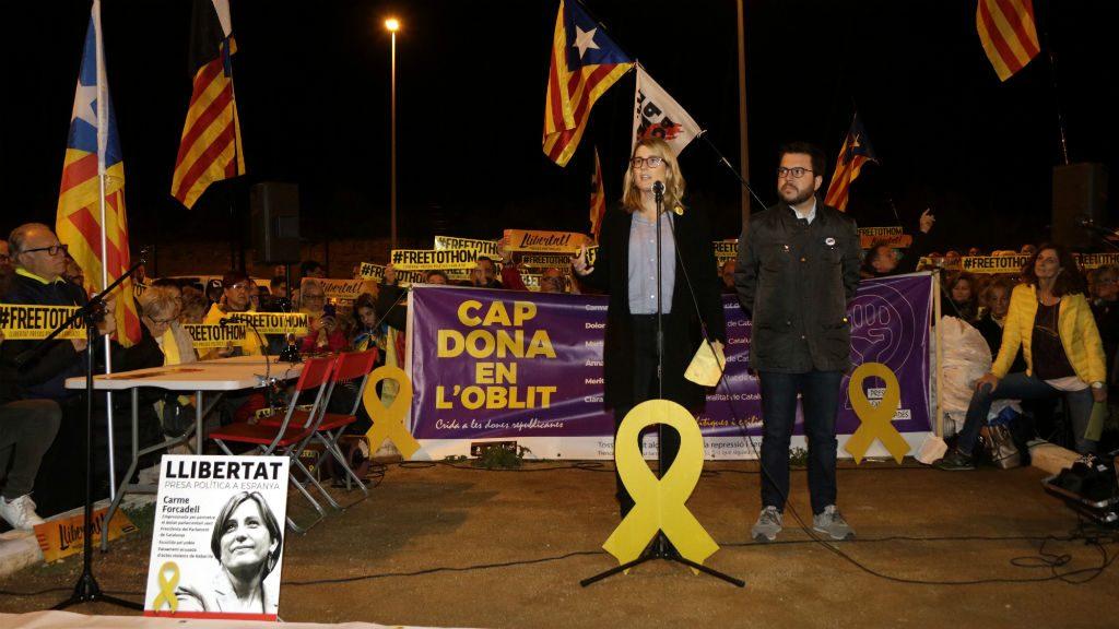 protesta mas enrich presó forcadell