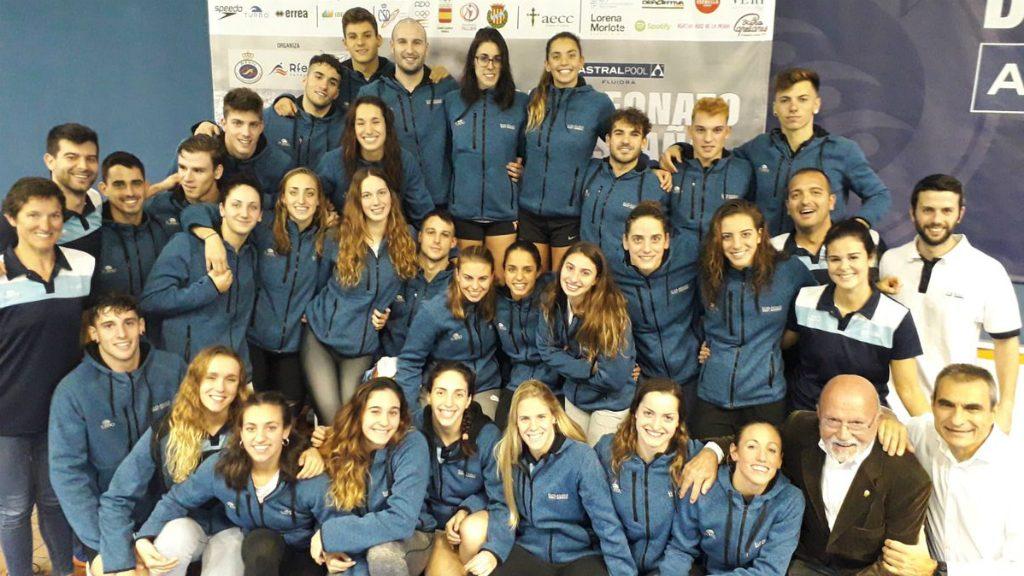 Nedadors del CN Sant Andreu
