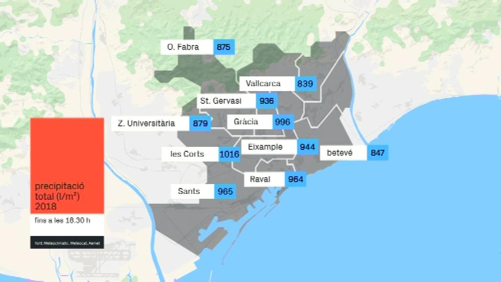 mapa de precipitació 15 de novembre