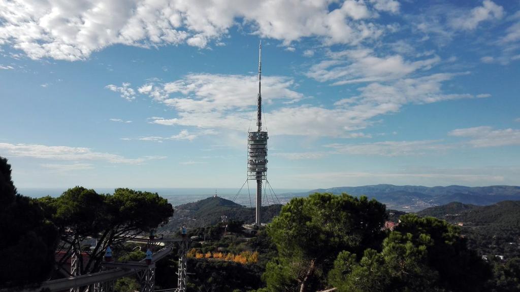 imatge de sol al Tibidabo