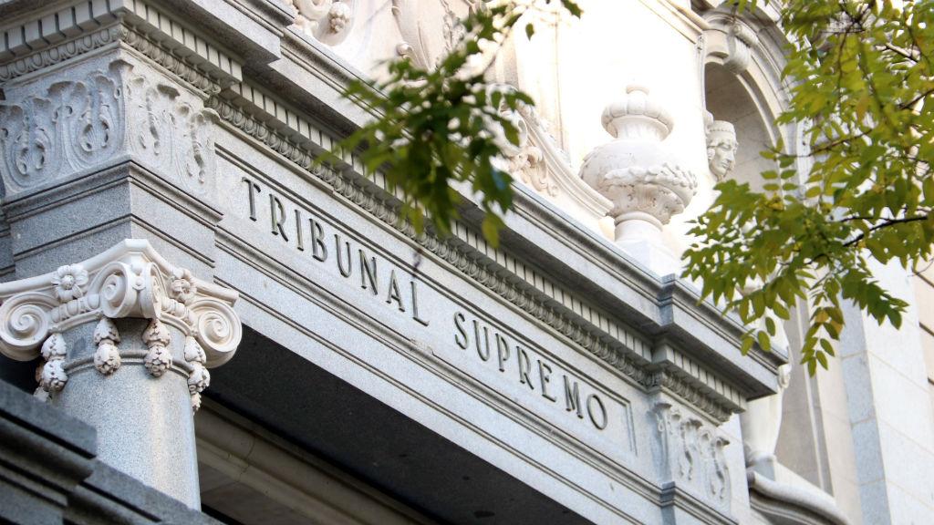 Façana del Tribunal Suprem