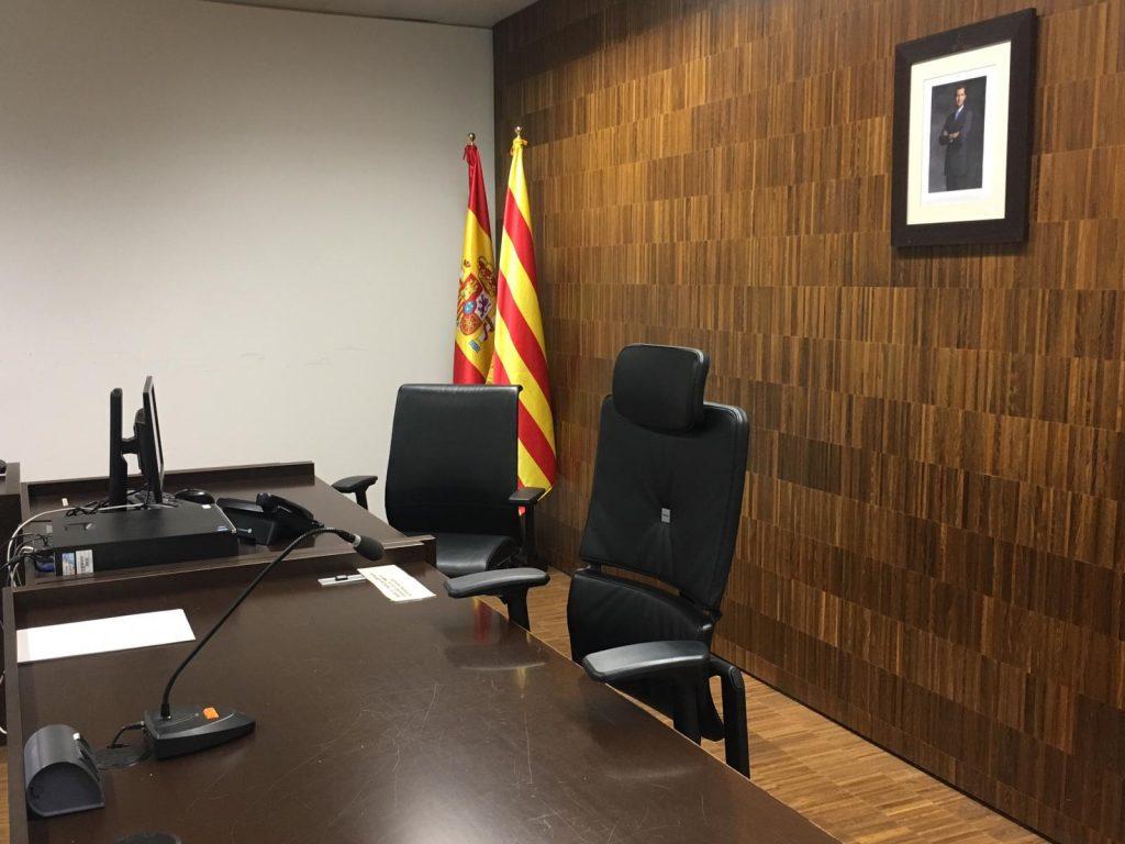 sala jutjat buida per vaga de jutges