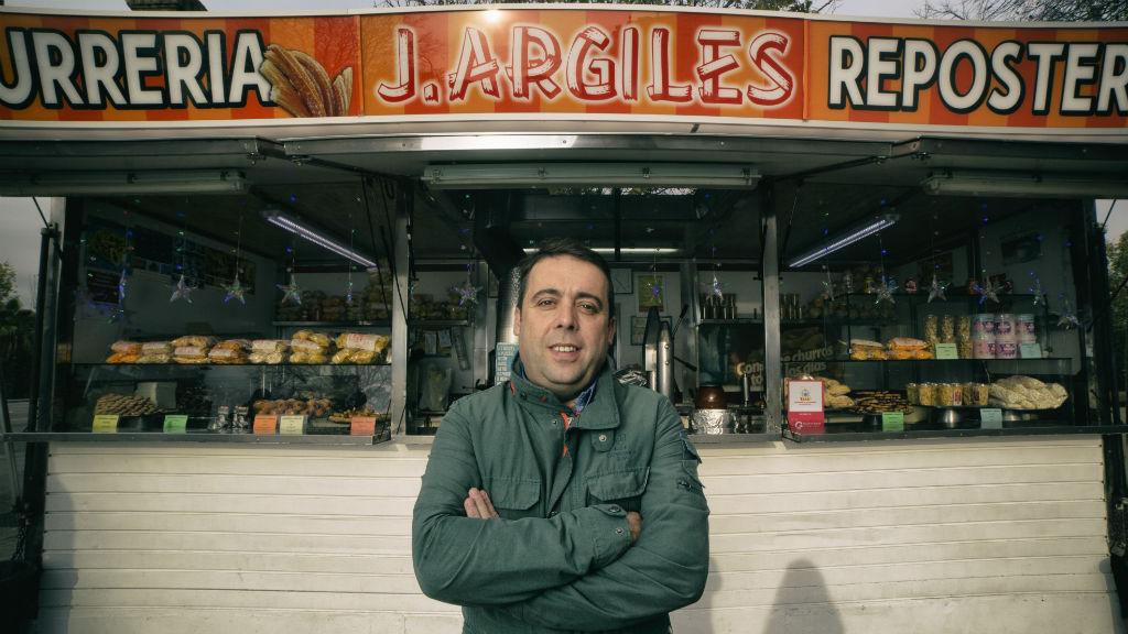 xurreria J. Argilés de Barcelona