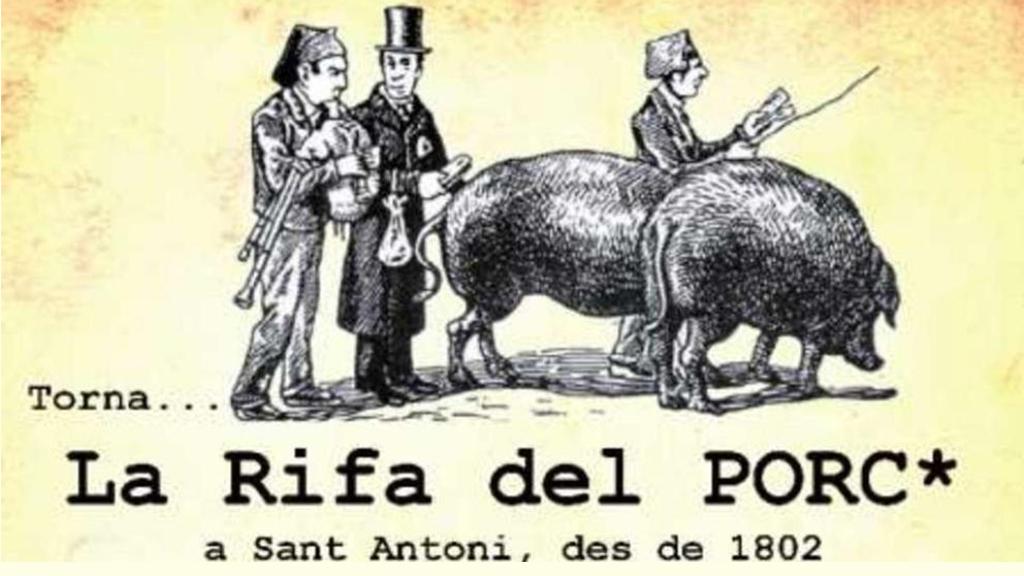 rifa dels porcs