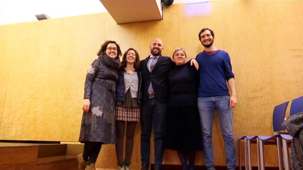 Jordi Graupera i els candidats