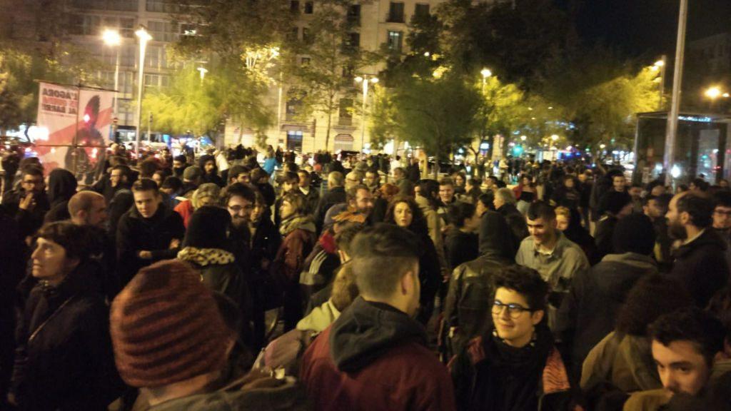 Manifestació Ocupa Barcelona