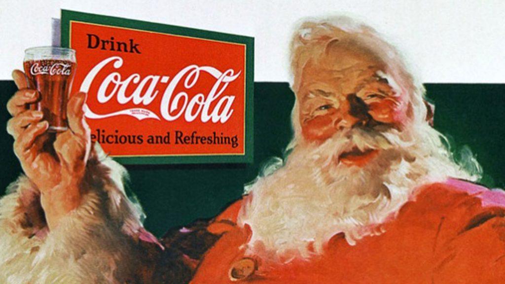 Sundblom va dibuixar els anuncis nadalencs de Coca-Cola des del 1931 fins al 1966