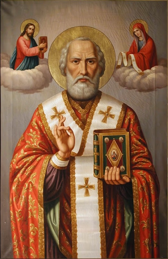 Sant Nicolau de Bari va ser un bisbe del segle IV