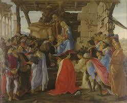 L'Adoració dels Reis Mags, de Sandro Botticelli